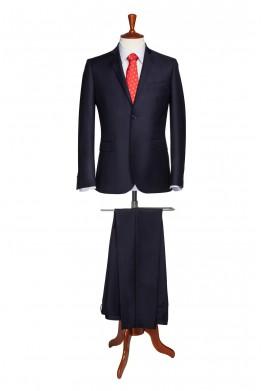 Costum barbati business bleumarin inchis 820