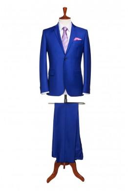 Costum barbati business albastru 833
